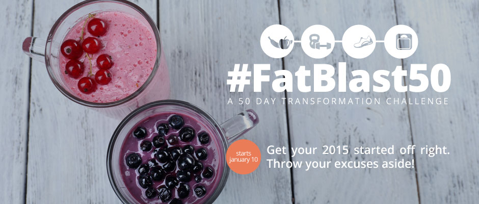#FatBlast50 - A 50 Day Transformation Challenge by JQ Fitness